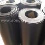 แผ่นรองก้นกระเป๋า พลาสติก PE สีดำ หนา 0.60*มิล หน้ากว้าง1 เมตร