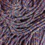 เชือกร่ม สีม่วงดิ้นรุ้ง 7 สี ถักกระเป๋า